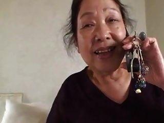 Japanese Granny 75yo