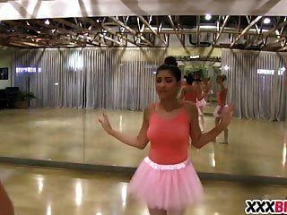Ballerinas Punishing The Newbie
