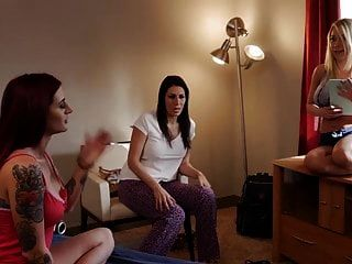 Katie Morgan Sneaks Into Her Lesbian Friend