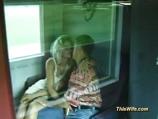 German Couple Fucking At The Train