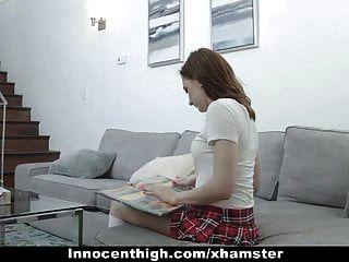 Innocenthigh - School Girl Skips Exam To Get Fucked