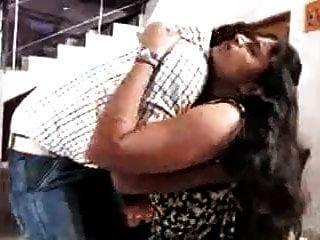 Desi Telugu Aunty Threesome