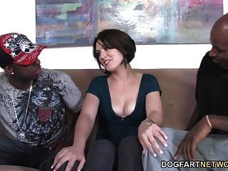 Anal Slut Sarah Shevon Interracial Dp
