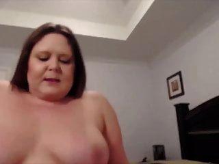Mischievous Bbw Mom Courtney With Dirty Talks And Milky Tits