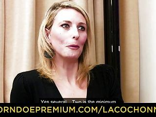 La Cochonne - First Anal Dp For Blonde Mature In Mmf Fuck