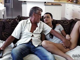 Daddy4k. Horny Brunette Unleashes All Lust On Boyfriend