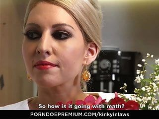 Kinky Inlaws - Stepson Gets To Please Hot Czech Stepmom