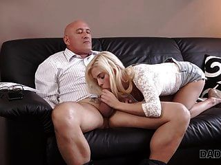Daddy4k. Curious Blonde Wanted To Try Sex With Experienced..