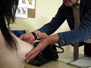 Busty Young Wife Asks Old Doctor To Give Her Bigger Boobs