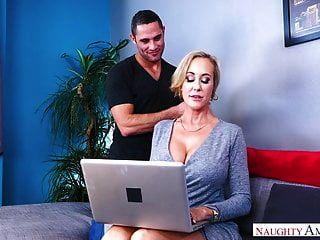 Brandi Love Big Tit Milf Fucks Young Boy