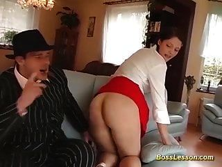 Her First Big Dick Anal Lesson
