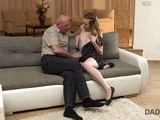 Daddy4k. Curious Babe Wanted To See Cock Of Her Boyfriend