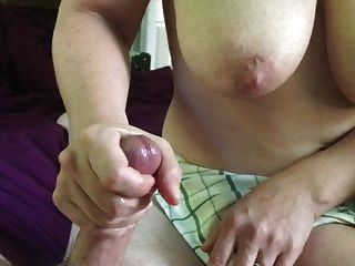 Big Tit Wife Milking My Cum Out Of My Cock