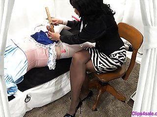 Femdom Mistress Sissy Small Penis Humiliation