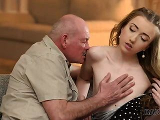 Daddy4k. Mature Dad Makes Closer Acquaintance With Young...